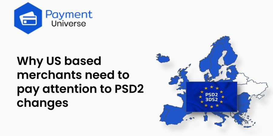 Why US based merchants need to pay attention to PSD2 changes
