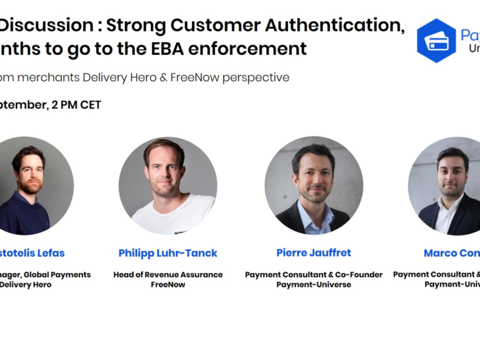 Live Discussion with FreeNow & DeliveryHero. SCA, 4 Months to go to the EBA enforcement